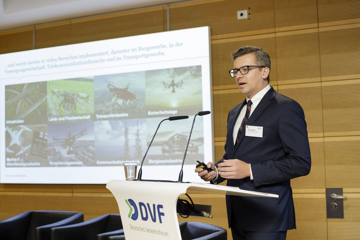 Adam Wiśniewski, Leiter des Centre for Drone Powered Solutions von PwC