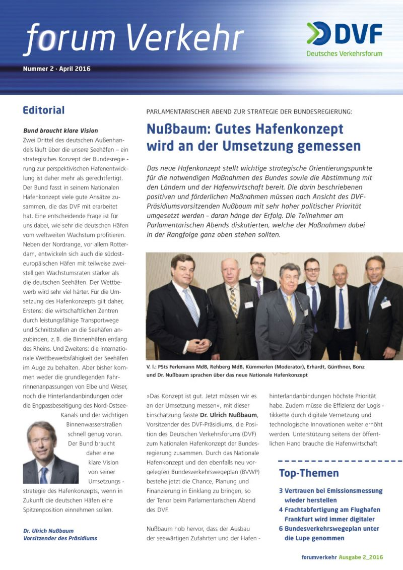 Newsletter Nr. 2 / April 2016