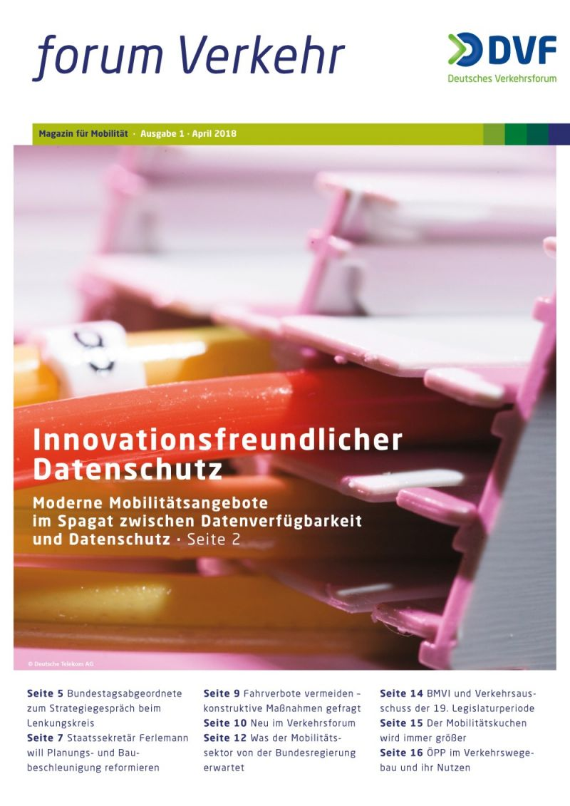 Newsletter Magazin Nr. 1/ April 2018