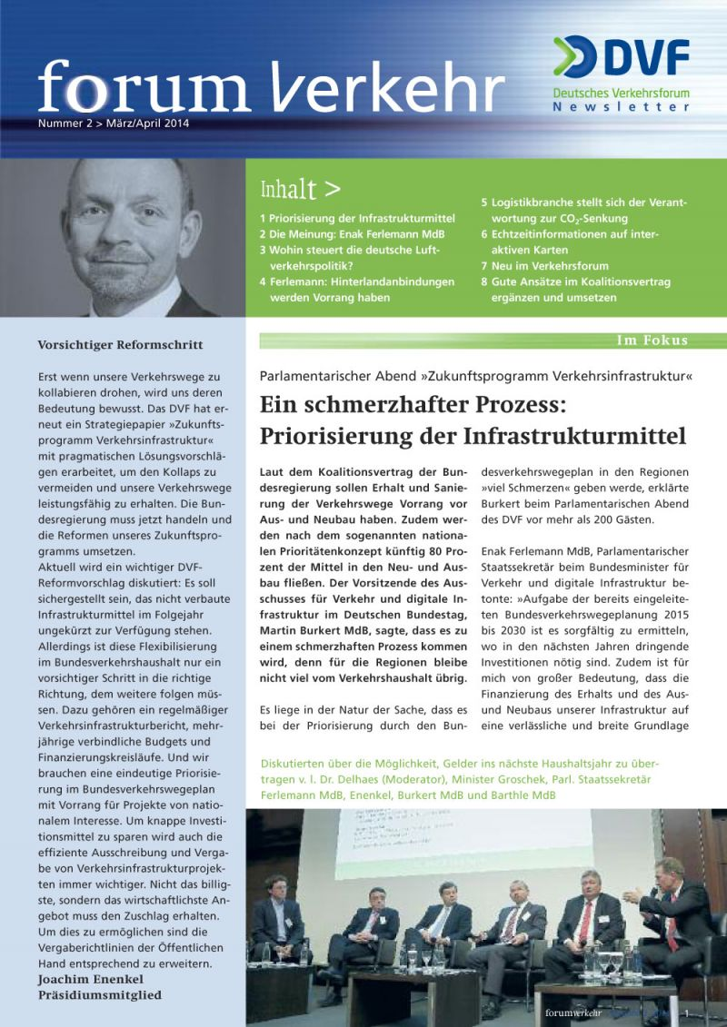 Newsletter Nr. 2 / März & April 2014